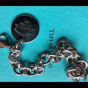 Excellent condition Tiffany and co tag bracelet